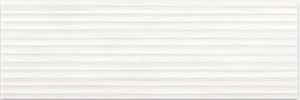 Плитка Elegant Stripes White Structure 25х75
